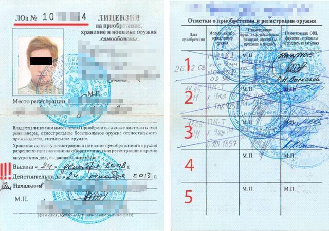 Экзамен на оружие: как получить лицензию