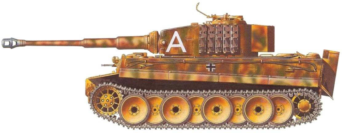 """Танк pz.kpfw.v """"panther"""" ausf. a."""