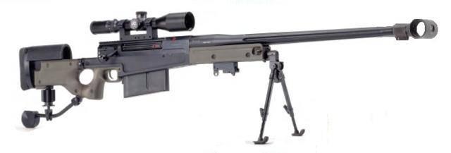 Крупноколиберная снайперская винтовка barrett m99