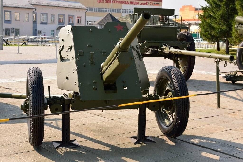 Советская 45-мм противотанковая пушка М-42 1942 года – палочка-выручалочка советской пехоты