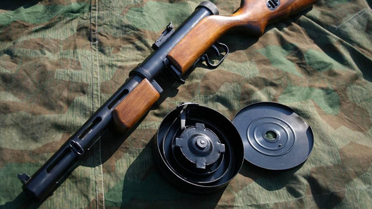 Пистолет-пулемет дягтерева или автомат ппд