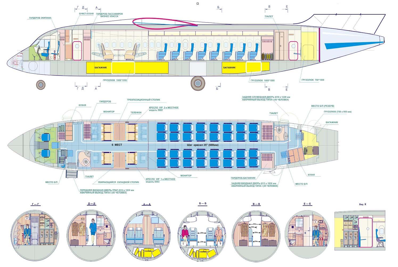 Антонов ан-158. фото. видео. схема салона. характеристики. отзывы.