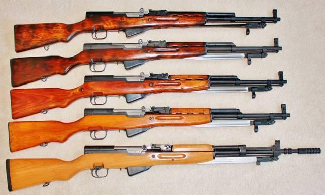 Карабин скс: самозарядная автоматическая винтовка симонова, гладкоствольная