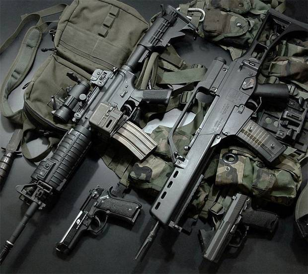 Bushmaster acr - internet movie firearms database - guns in movies, tv and video games