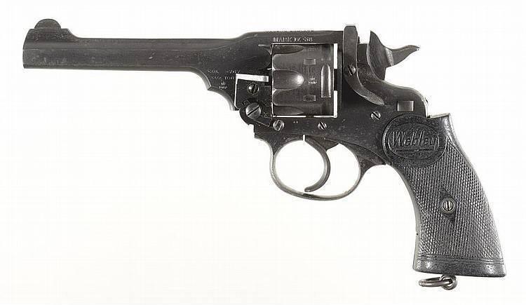 Пистолет webley & scott m1910