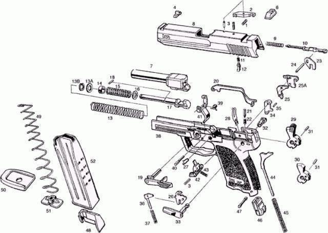 Пистолет hk usp