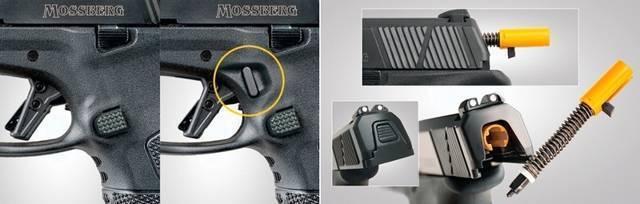 Вторая серия. новый пистолет mossberg mc2c