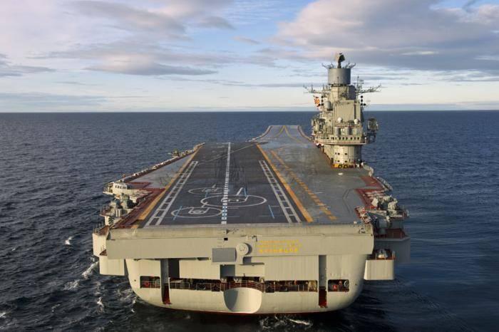 Тяжелый авианосец «адмирал кузнецов»