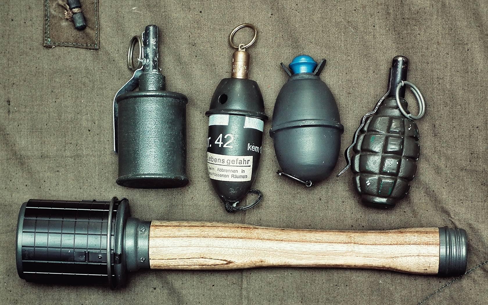 Топ-5 фантастичных гранат мировых войн