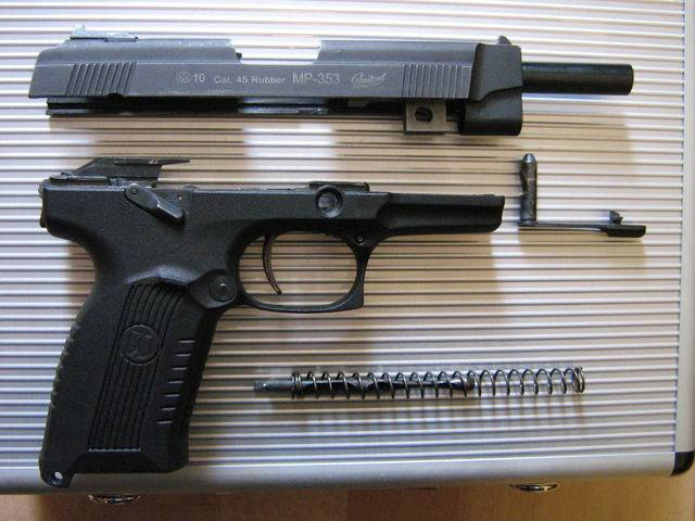 Травматический пистолет лидер-м (тт) | о р у ж и е