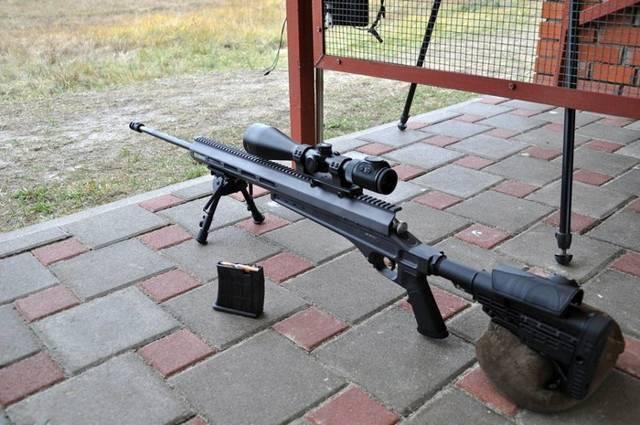 Снайперская винтовка ВМ2 МП-УОС