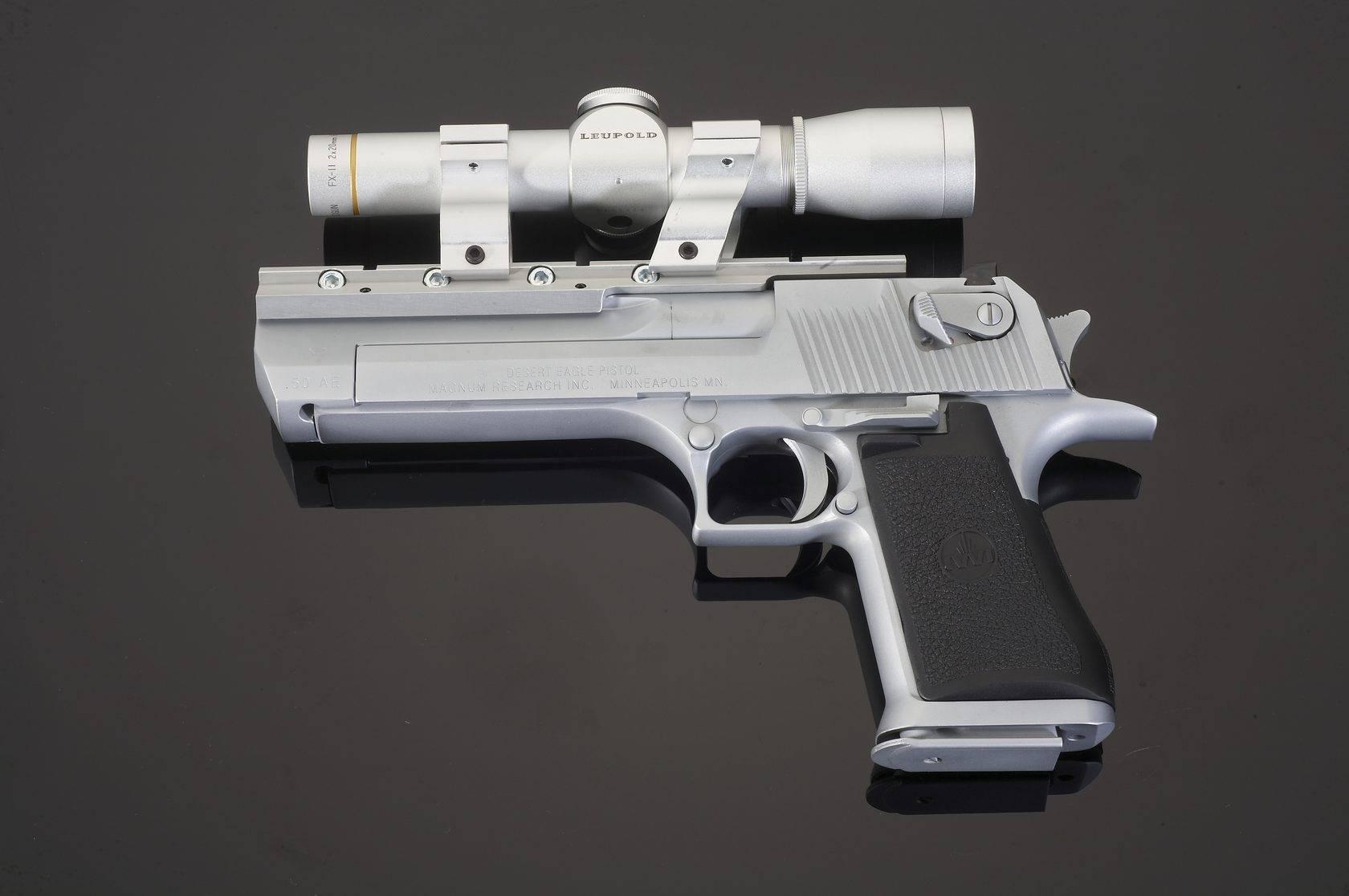 Desert Eagle – самый мощный пистолет в истории оружия