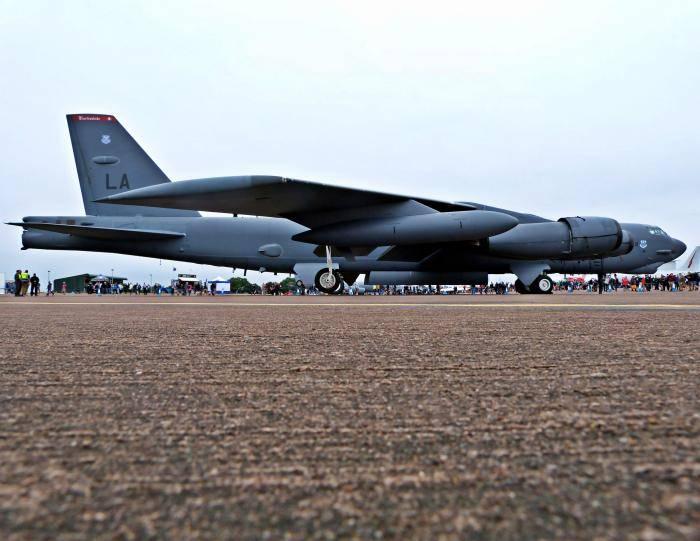 Стратегический бомбардировщик - strategic bomber