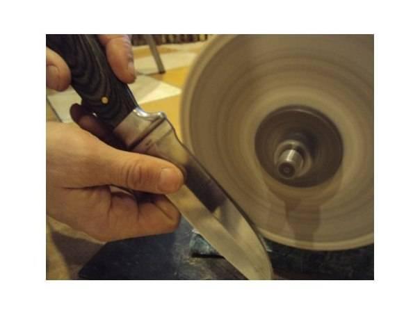 Как определить правильный угол заточки ножа