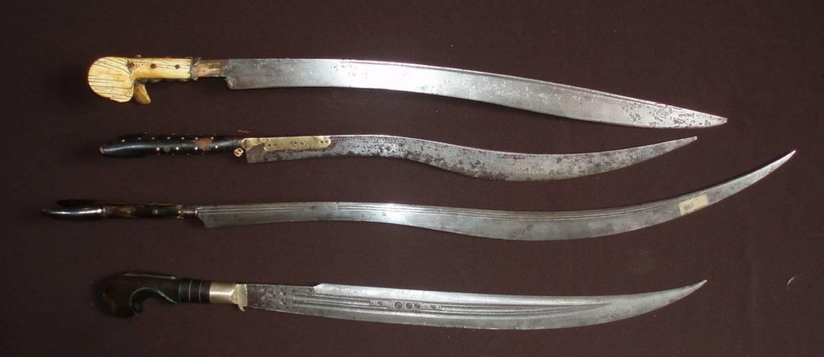 Ятаган: меч востока, смертельный клинок янычар (7 фото)