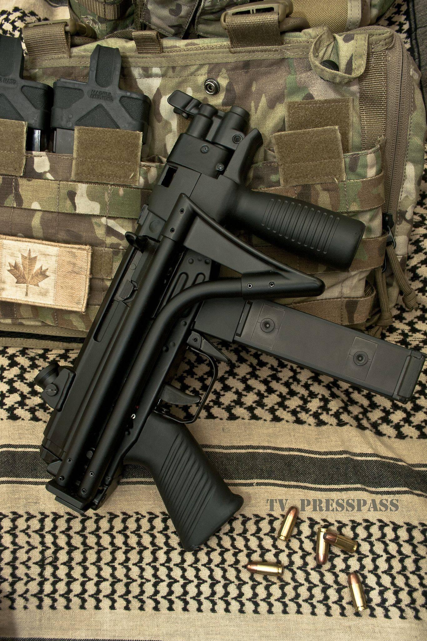Пистолет-пулемет FAMAE SAF