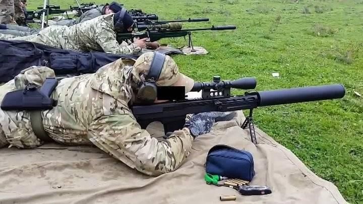 """Самая тихая крупнокалиберная винтовка – """"Выхлоп"""""""