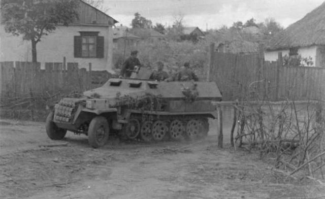 Бронетранспортер sd.kfz.251