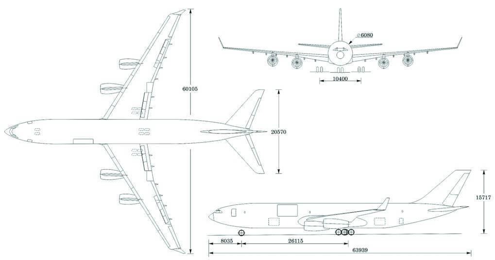 Ил-96. фото. видео. схема салона. характеристики. отзывы