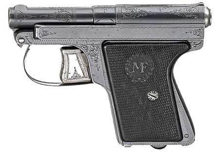 Le francais пистолеты — характеристики, фото, ттх