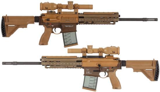 Штурмовая винтовка gewehr-3 «хеклер-кох» | армии и солдаты. военная энциклопедия