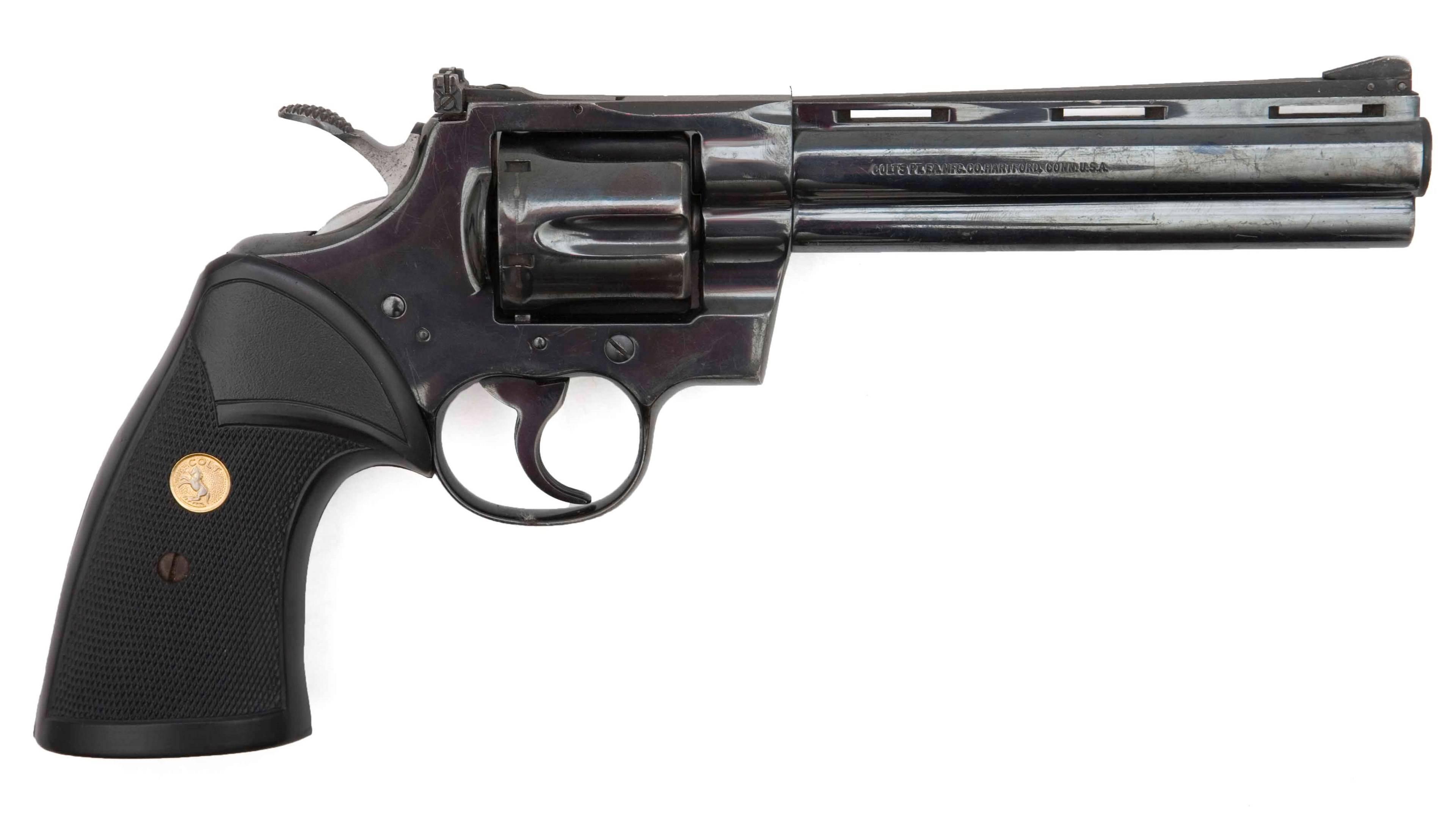 Кольт Питон – красивый револьвер для настоящих мужчин