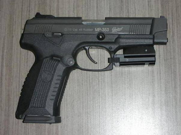 Травматический пистолет Лидер-М