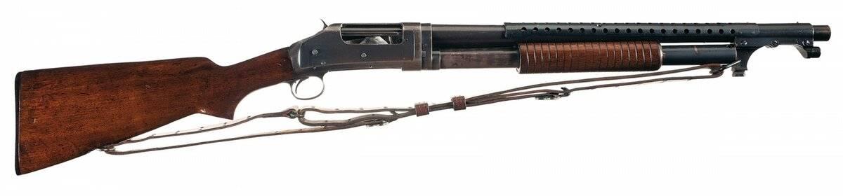 Winchester m1897 trench gun. почему это ружьё называли «окопная метла»? гладкоствольное ружье winchester m1897 конструкция и принцип действия