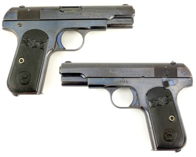 Colt model 1903 pocket hammerless — wikipedia republished // wiki 2