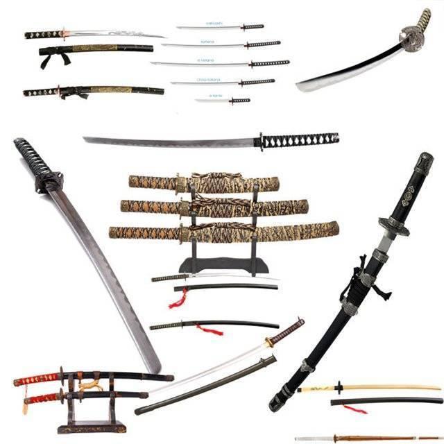 Нагамаки — странное оружие японских самураев, имеющее спорную судьбу
