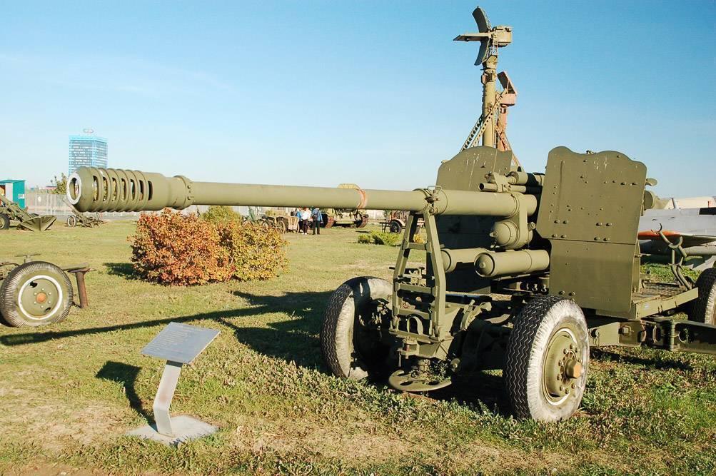 Советская 100-мм зенитная пушка КС-19 1947 года – становой хребет послевоенной ПВО Советского Союза