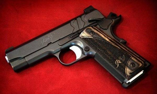 Пистолет kimber warrior