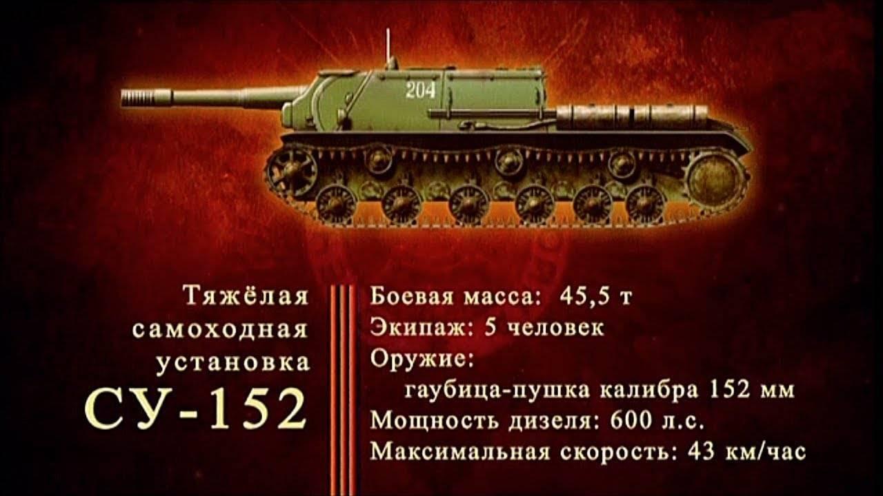 Самоходная артиллерийская установка ису-152 «зверобой»