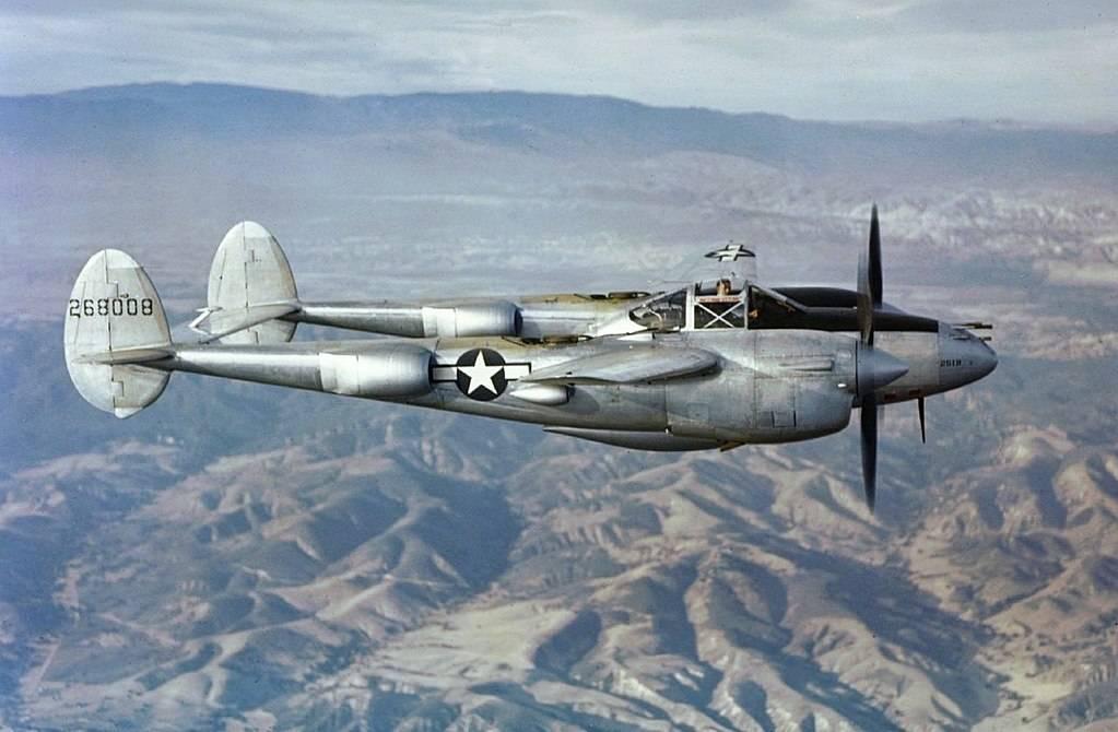 Локхид p-38 «лайтнинг»