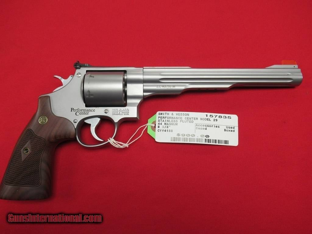 Револьвер smith & wesson hand ejector .357 magnum