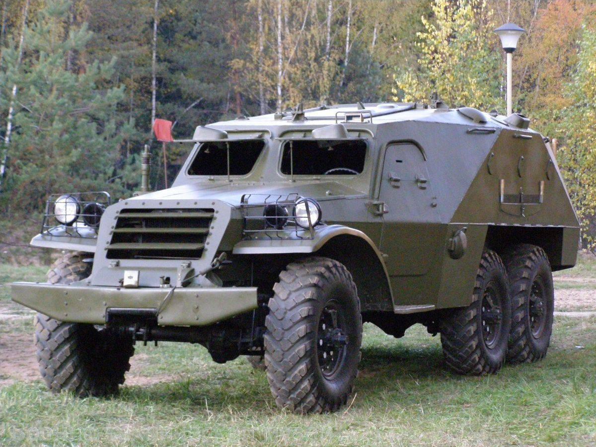 БТР-152 – первый массовый бронетранспортер СССР