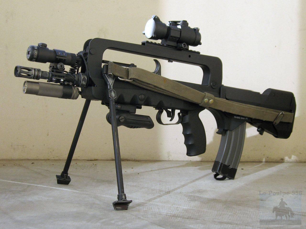 Видео: штурмовая винтовка famas