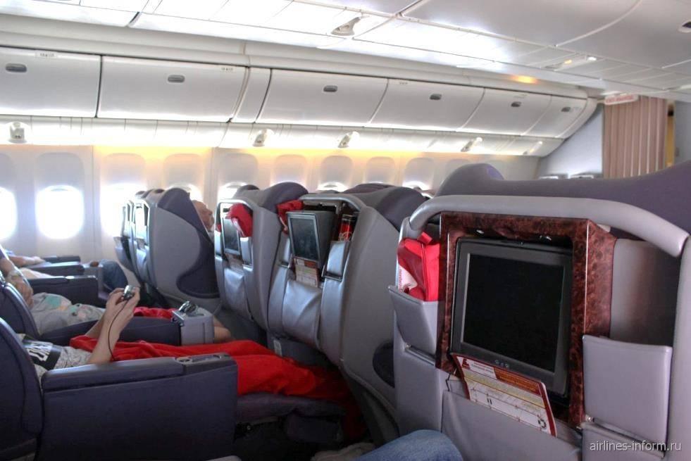Лучшие места по схеме салона боинг 777 300 авиакомпания норд винд