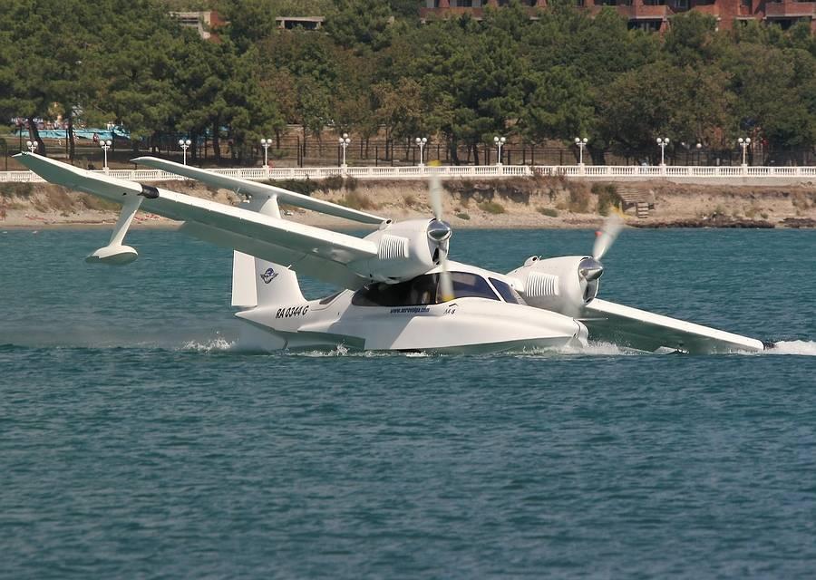 Летающая лодка л-31 «новая вера» — клубный самолёт