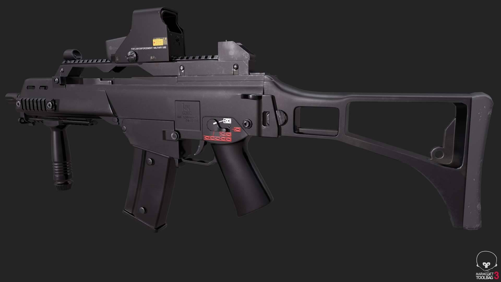 Новая штурмовая винтовка сил специального назначения бундесвера