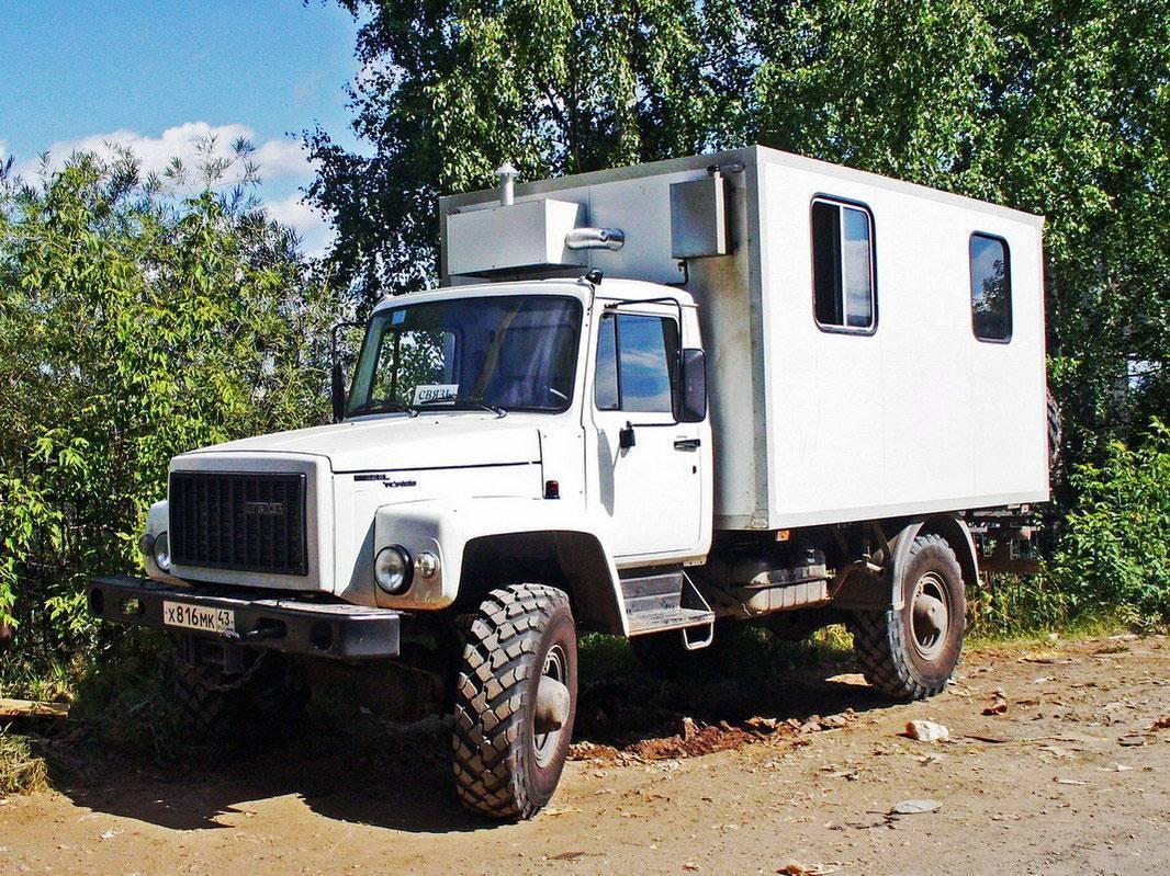 Чем хорош отечественный грузовик газ 3309