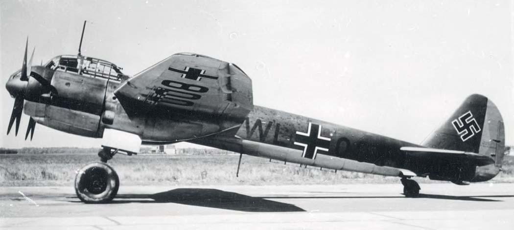 Средний бомбардировщик junkers ju 88a