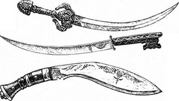 Кукри -самый древний боевой нож