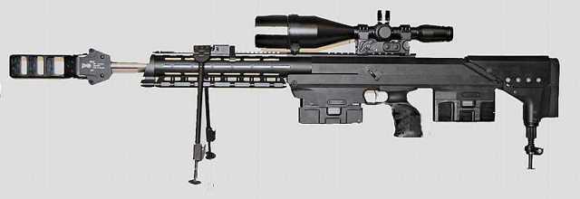 Снайперская винтовка S&T Motiv K14