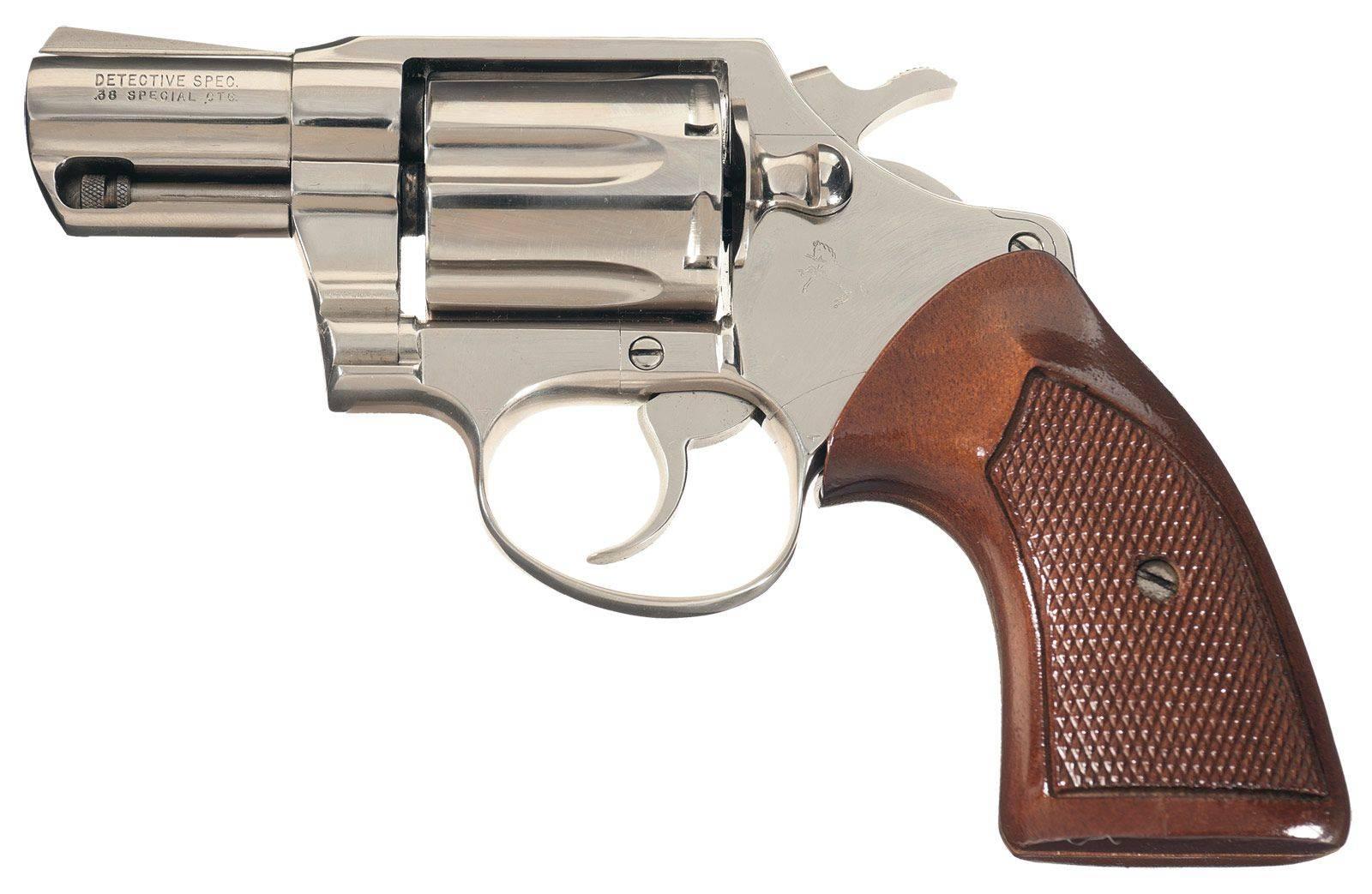 Colt detective special - револьвер в стиле нуар