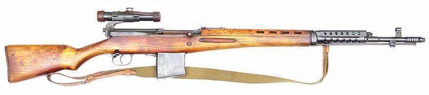 Самозарядная винтовка токарева - вики