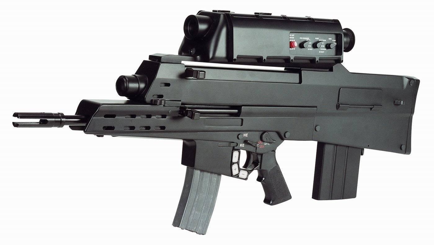 Штурмовые винтовки Британии