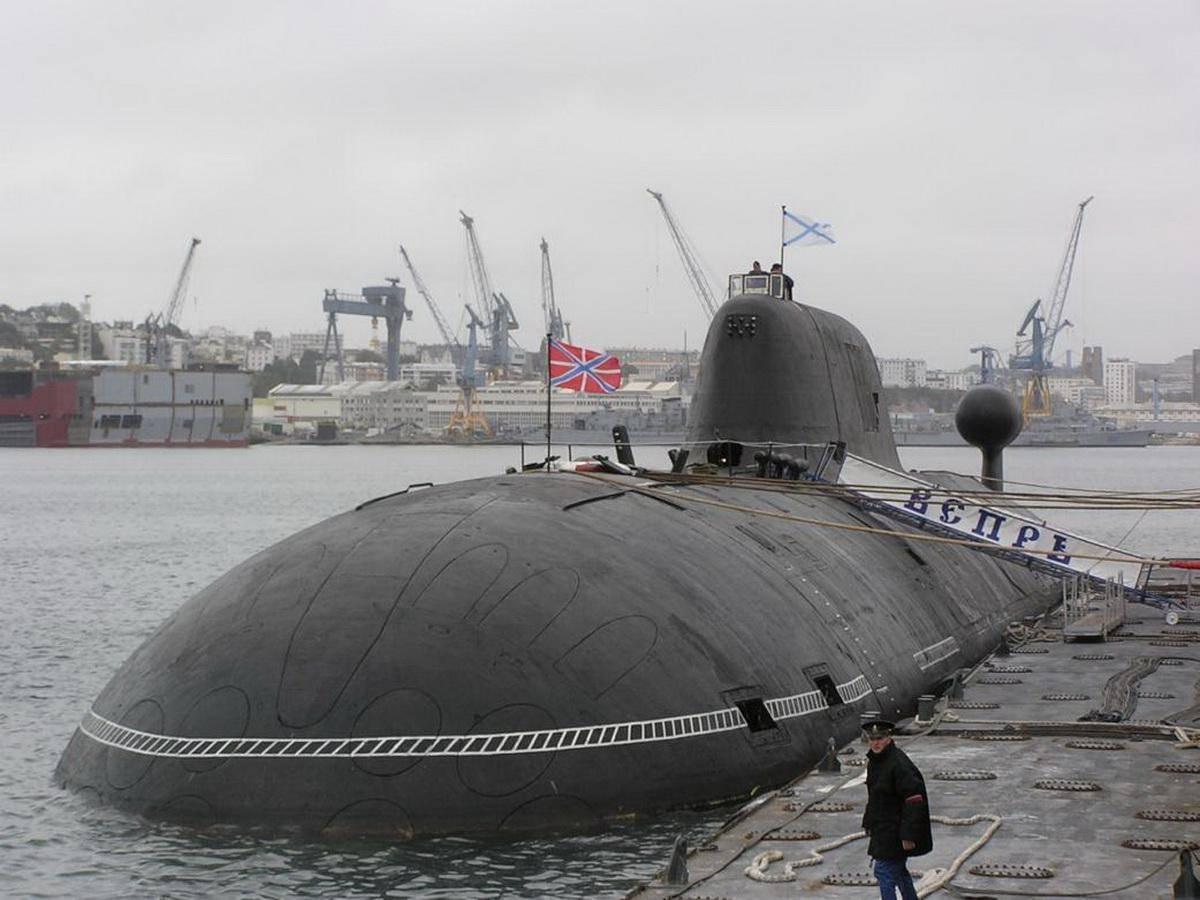 Проект 971 - серия многоцелевых атомных подводных лодок: характеристики