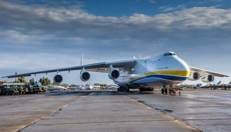 Самолет ан-225: технические характеристики