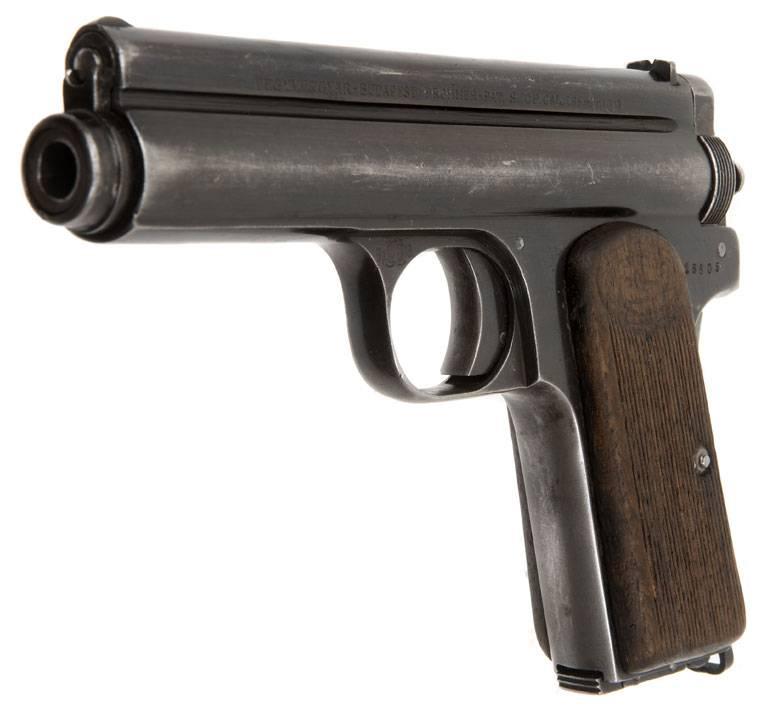 Видео: стрельба из пистолета frommer «baby»